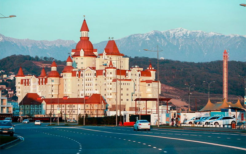 Отель Богатырь Сочи 4*